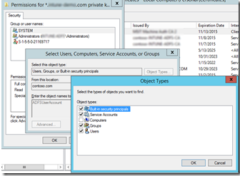 Changing ADFS certificates – Service Communications (SSL) – Sam's Corner