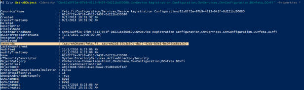 Azure AD – Automatic DRS for Windows Domain joined devices