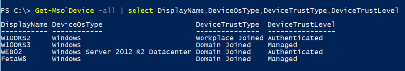 Azure AD – Automatic DRS for Windows Domain joined devices – Sam's