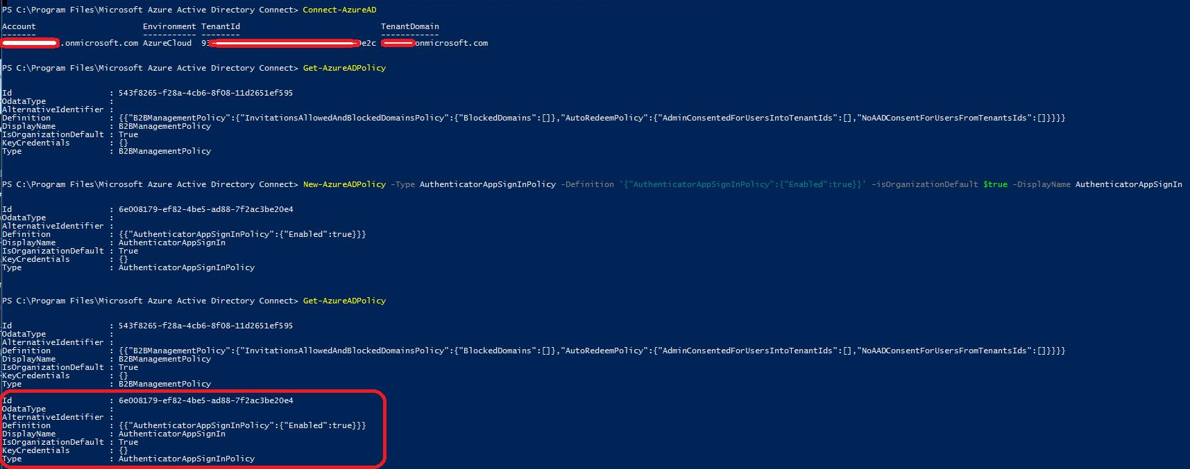 PasswordLess Authentication to Azure AD – Sam's Corner