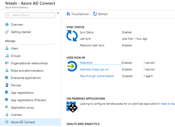 From ADFS to Password Hash Sync and Seamless SSO – Sam's Corner