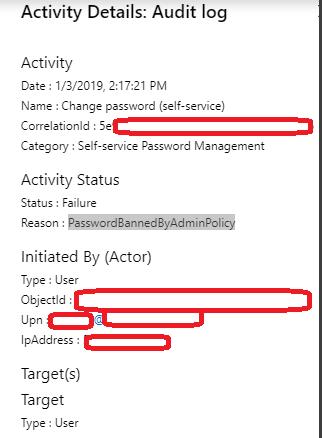 Active Directory – Banned Passwords – Sam's Corner