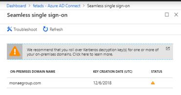 Seamless SSO – Roll Over Kerberos Decryption Key – Sam's Corner